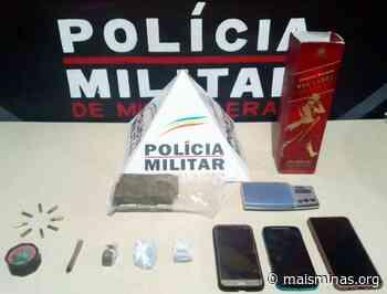 Homem é preso por tráfico de drogas no bairro Bandeirantes, em Mariana - Mais Minas