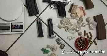 Suspeitos de envolvimento com tráfico de drogas são presos em Colatina - A Gazeta ES