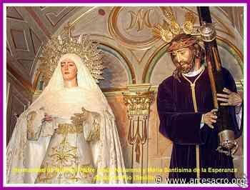 Provincia. La Hdad. de Jesús Nazareno de Alcalá del Río celebra los Actos de Entrega de Tapas al XXVI Exaltador a la Esperanza de María - Arte Sacro