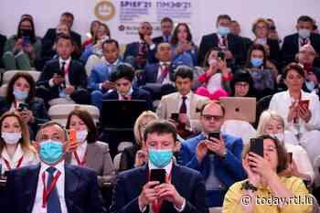 Saint Petersburg: Russia gathers thousands for economic forum despite pandemic - RTL Today