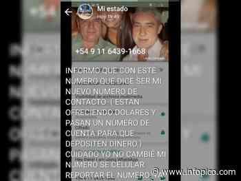 """Nuevo """"cuento del tío"""" en General Pico: Se hacían pasar por un vecino cambiando la foto de Wh... - InfoPico.com"""