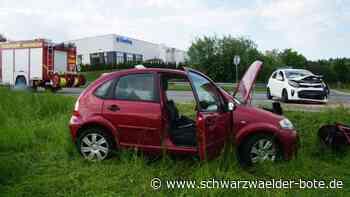 Unfall in Hechingen - Vier Verletzte auf Landesstraße 410 - Schwarzwälder Bote