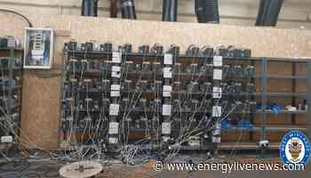 Sandwell cryptocurrency mine found stealing electricity - Energy Live News - Energy Made Easy
