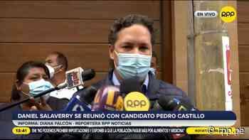 """Daniel Salaverry: """"Castillo ya dejó bien claro que en un próximo gobierno Cerrón no va a tener participación activa"""" - RPP Noticias"""