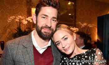Emily Blunt tells of horror film stunt that left her terrified 'it was my husband's idea' - Express