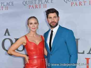 John Krasinski responds after Amy Schumer jokes his marriage to Emily Blunt is 'for publicity' - The Independent