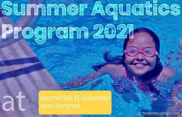 The City of Santa Ana Summer Aquatics Program starts on June 7