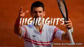 French Open Highlights: Novak Djokovic makes light work of Pablo Cuevas - Eurosport COM