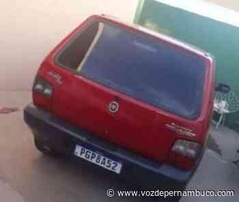 Veículo foi furtado no final da tarde desta sexta (4) em Carpina - Voz de Pernambuco