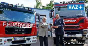Feuerwehr Isernhagen erhält neuen Rüstwagen und Tanklöschfahrzeug - Hannoversche Allgemeine