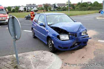 Unfall in Elsenfeld mit einer verletzten Person - Main-Echo