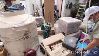 Catean inmueble en San Mateo Atenco, encuentran vehículos robados y mercancía diversa - Noticiario Así Sucede