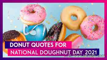 National Doughnut Day 2021 in US: Funny Quotes About Donuts to Add Sprinkles to Your Regular Life - LatestLY