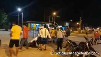 Policía fallece tras impactar contra un trimóvil en Puerto Maldonado - Radio Madre de Dios