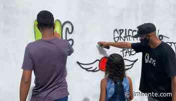 Oficinas de Grafitti e de Pneus na Associação do Itaqui-Bacanga - Imirante.com