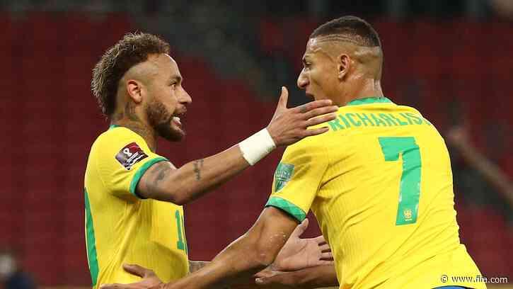 Brazil remain perfect with tight win over Ecuador