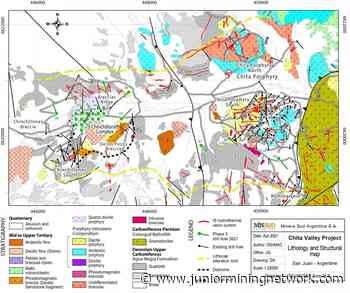 Minsud Resources Commences Phase 3 Drilling at Chita Valley Project, San Juan, Argentina - Junior Mining Network