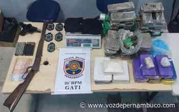 Homem foi detido com drogas e armas de fogo em Igarassu - Voz de Pernambuco