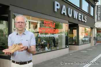 """Na zestig jaar stopt familiezaak Pauwels Schoenen: """"We zijn in een schoenendoos geboren"""""""