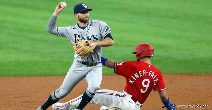 Rays 4, Rangers 5: The Rangers ended their losing streak at the Rays expense