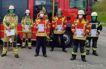 Feuerwehr Osterburken: 18 Teilnehmer zu Maschinisten ausgebildet - Fränkische Nachrichten