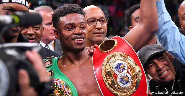 Errol Spence Jr: Manny Pacquiao in trouble, I'm in better shape now - Bad Left Hook