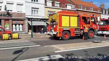 Wormhout : un début d'incendie sur la Grand-Place a mobilisé d'importants moyens - La Voix du Nord