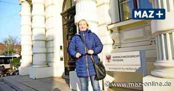 Zossen: Berufung im Disziplinarverfahren gegen Ex-Bürgermeisterin Michaela Schreiber - Märkische Allgemeine Zeitung