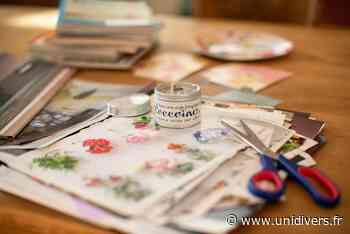 Atelier scrapbooking Maison du lien social mercredi 16 juin 2021 - Unidivers