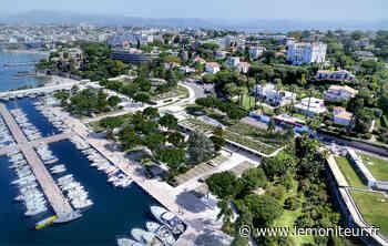 Au Cap d'Antibes, un port bleu, blanc et vert en gestation Le port Gallice, situé - Moniteur