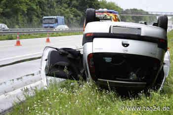 Heftiger Unfall auf der B39 bei Hockenheim-Talhaus! Opel-Fahrerin überschlägt sich auf Bundesstraße - TAG24