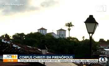 Pirenópolis, Aruanã, Caldas Novas e outras cidades turísticas têm toque de recolher durante feriado de Corpus Christi - G1