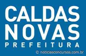 Prefeitura de Caldas Novas – GO anuncia novo Processo seletivo - Notícias Concursos