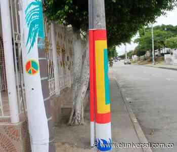 Casi 20 postes embellecidos en Chiquinquirá | EL UNIVERSAL - Cartagena - El Universal - Colombia