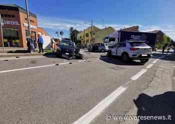 Lonate Pozzolo Incidente in viale Ticino a Lonate Pozzolo, interviene il 118 - varesenews.it