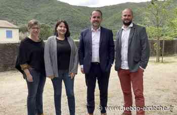 Hervé Saulignac et Sandrine Chereyre, sans hésitation - Hebdo de l'Ardèche