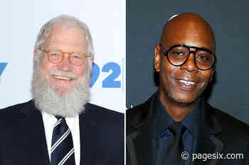 David Letterman making guest appearance on Dave Chappelle's podcast - Page Six