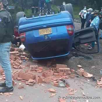 Accidente automovilístico deja un fallecido en la vía Zipaquirá -Ubaté - Extrategia Medios