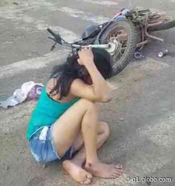 Motociclista colide contra viatura da PRF em Altamira, no Pará - G1