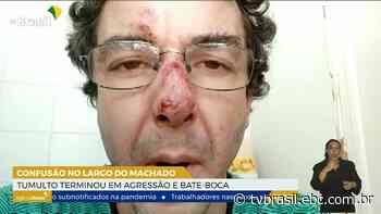 Confusão termina em socos no Largo do Machado | Repórter Rio | TV Brasil | Notícias - EBC