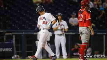Strange home-run review sparks late U.S. rally to crush Canada at Olympic baseball qualifier