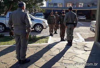 BM de Dom Pedrito recebe visita anual do Exército Brasileiro - Qwerty Portal