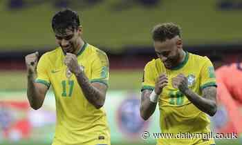 World Cup 2022: Brazil beat Ecuador 2-0 with Richarlison and Neymar on target