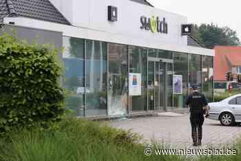 Ramkraak bij Switch in Aartselaar, daders zijn op de vlucht