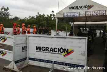 Con tanquetas bloquean los accesos a Colombia desde San Antonio del Táchira - Descifrado.com