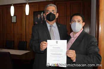 José Sergio Andrade Tena, nuevo director de Evaluación y Auditoría al Sector Central - Cambio de Michoacán