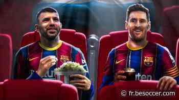 La gaffe du Barça : publier qu'Agüero jouerait aux côtés de Messi ! - BeSoccer