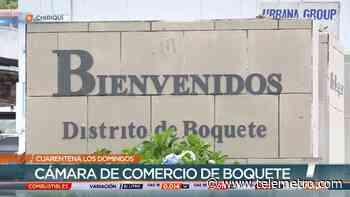 Cámara de Comercio de Boquete pide levantar inmediatamente los domingos de cuarentena - Telemetro