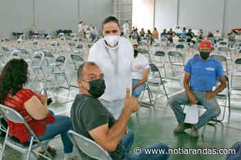 Inició el proceso de vacunación a mayores de 50 años en Arandas - NotiArandas
