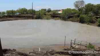 Continúa cerrado el volcán de lodo de Arboletes por inestabilidad en el terreno - Telemedellín